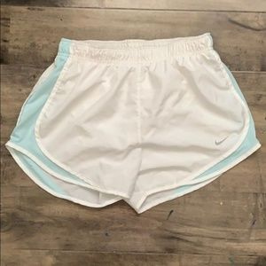 NIKE DRI-FIT White Shorts